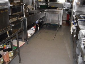 Casa Tapas - resin screed