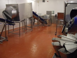 Food production flooring