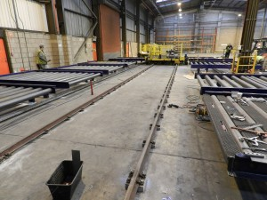 Menzies Air Cargo - resin plinths for railtrack