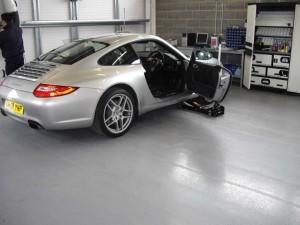 Porsche - resin floor