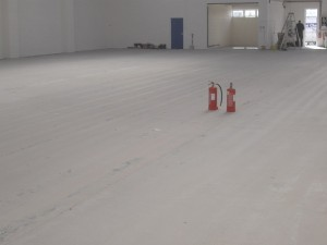 Warehouse floors