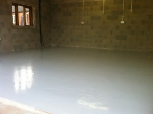 domestic garage floor 2 - after
