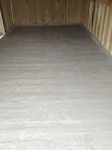 domestic garage floor 4 - after